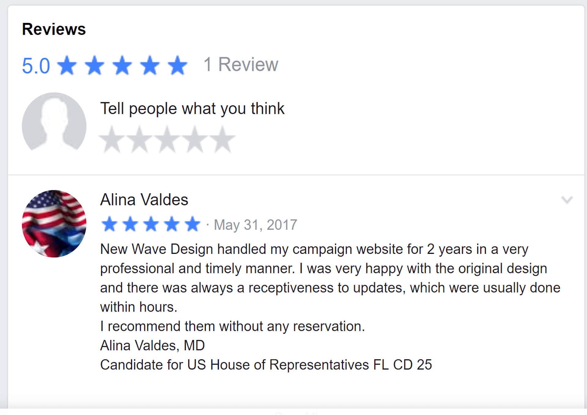 La Luna Creative Facebook Review