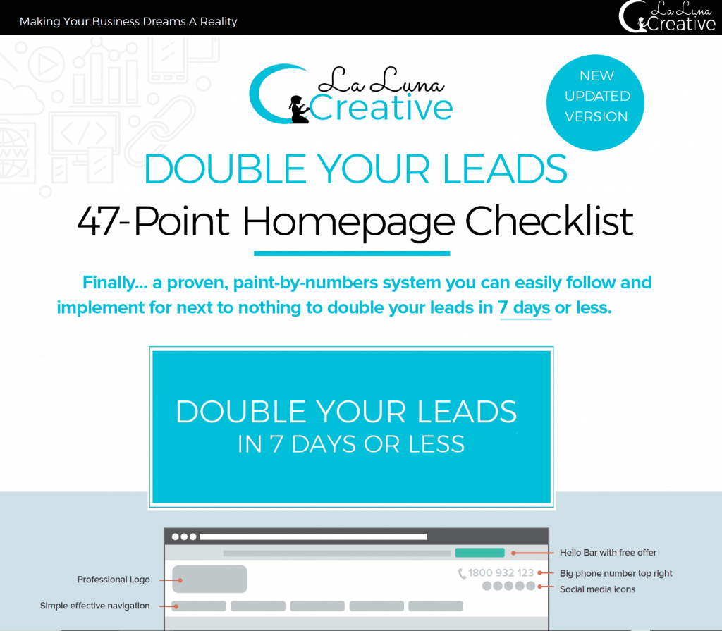 La Luna Creative 47 Point Checklist