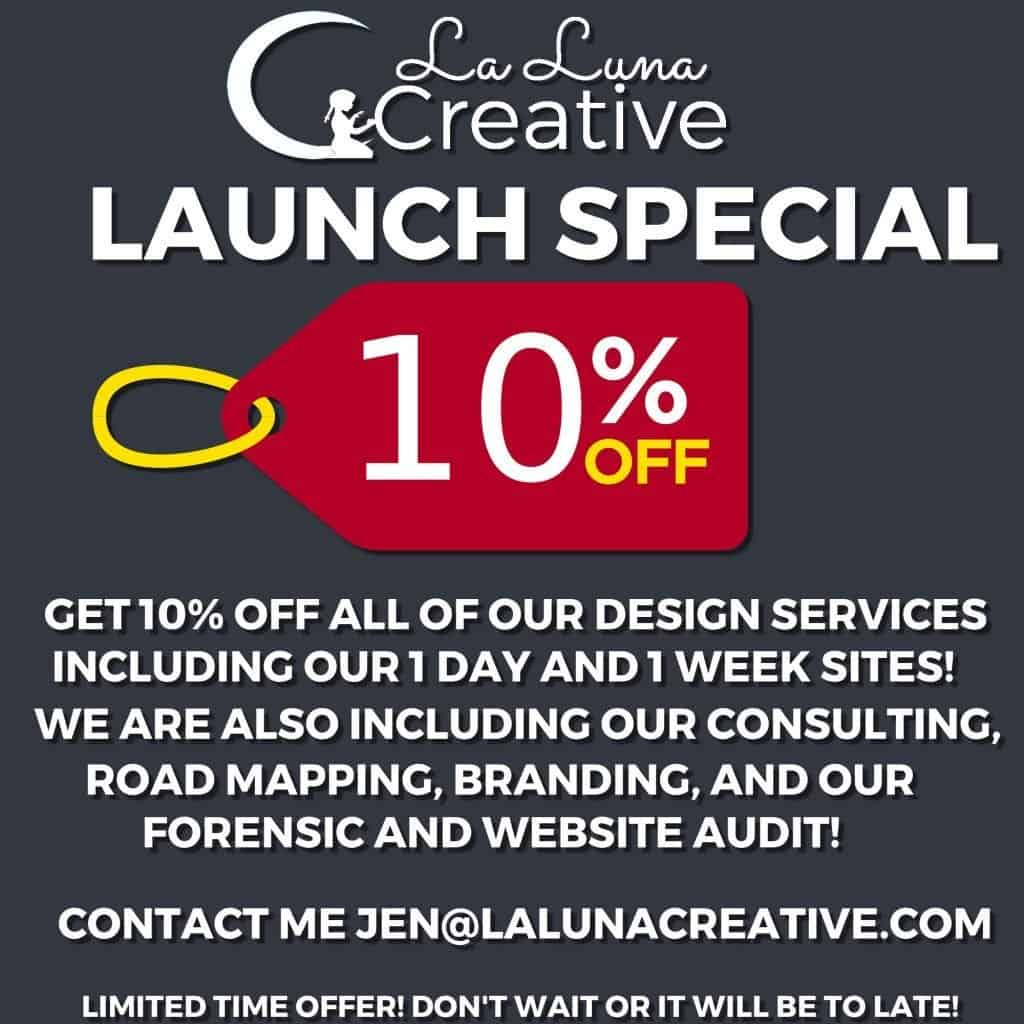 10% off big_ La Luna Creative