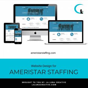 Ameristar Staffing Website Design Instagram