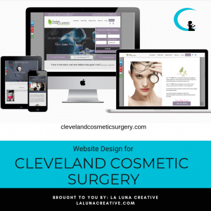 Cleveland Cosmetic Surgery Website Design Instagram