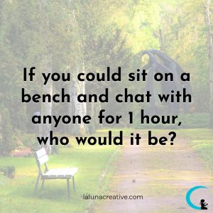 If You Could Sit On A Bench