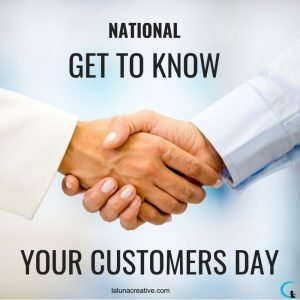 International Get To Know Your Customer Day