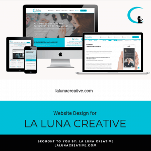 La Luna Creative Website Design Instagram