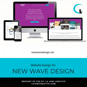 New Wave Design Website Design Instagram