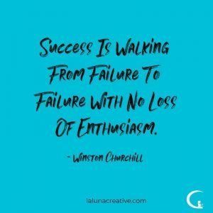 Success Is Walking