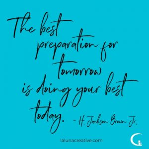 The Best Preparation
