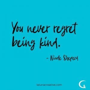 You Never Regret